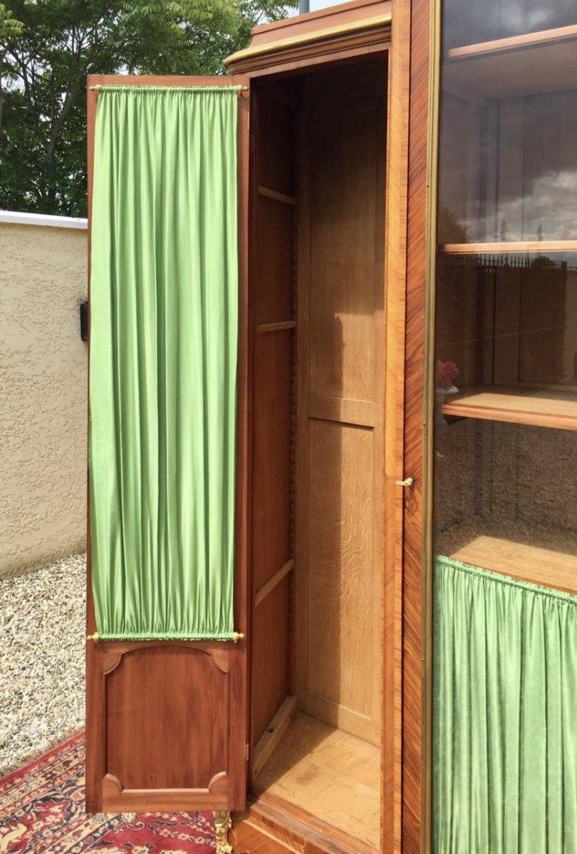 P. Sormani - Marquetry & Bronze Bookcase-photo-8