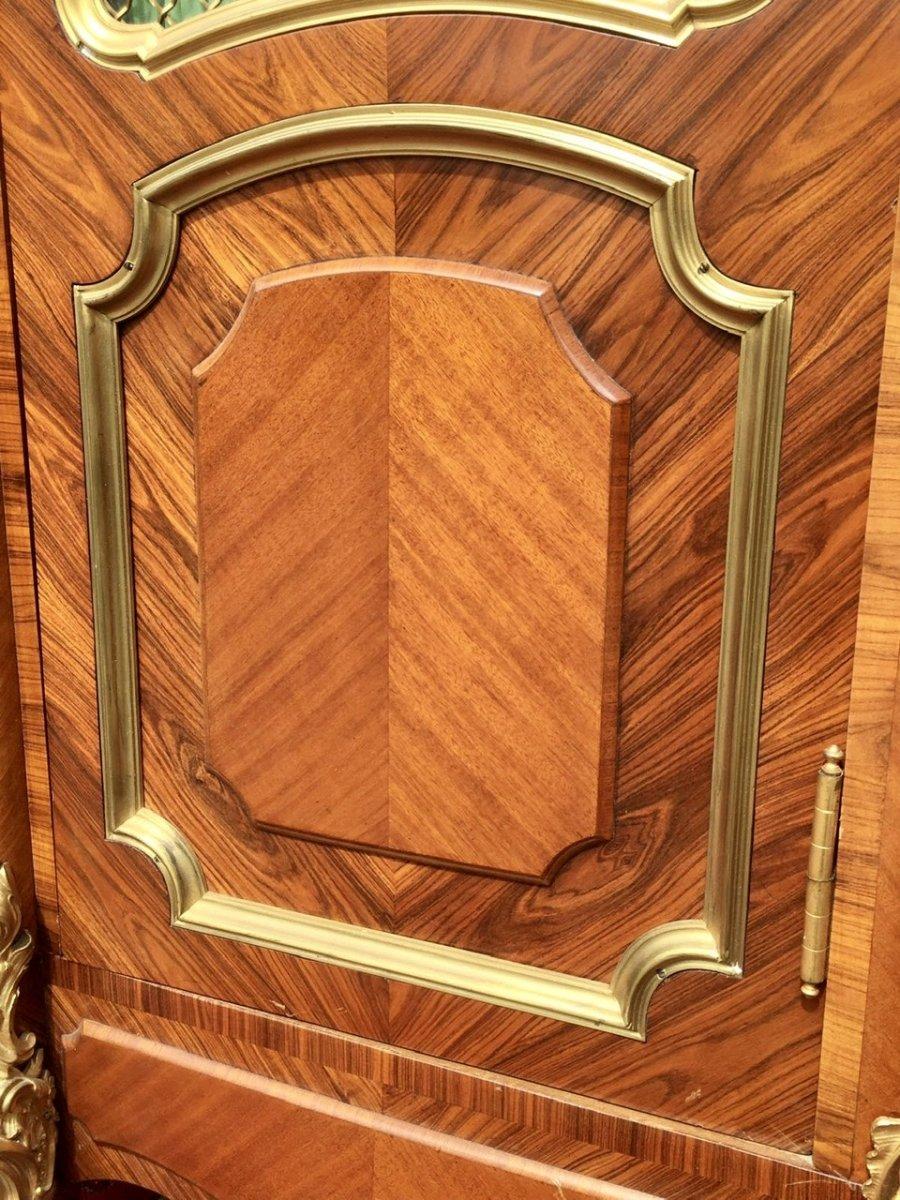 P. Sormani - Marquetry & Bronze Bookcase-photo-5