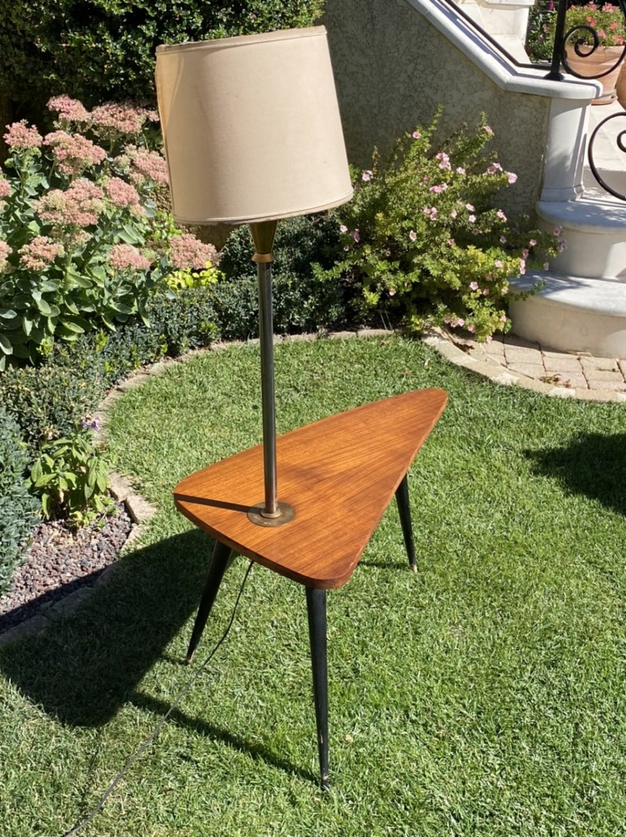 1960s Coffee Table / End Table-photo-2