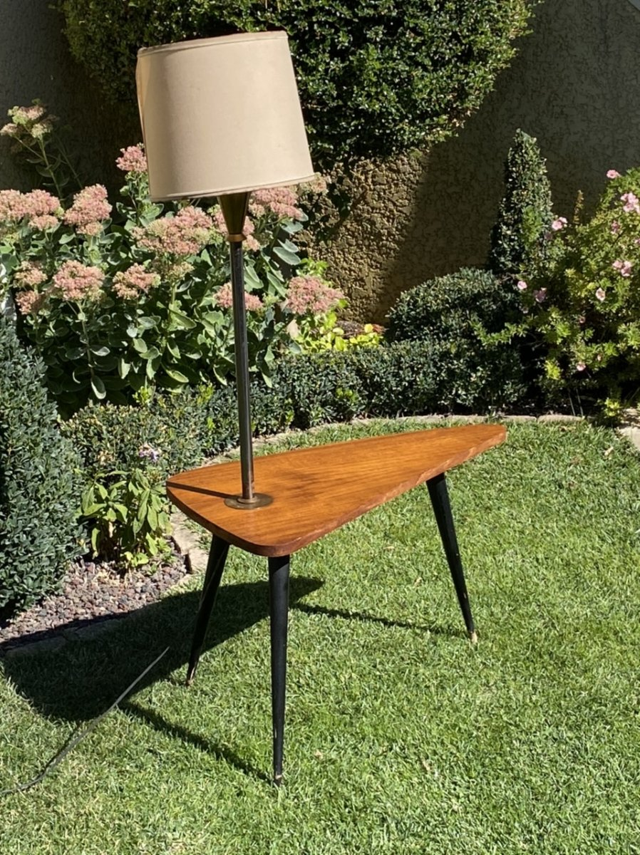 1960s Coffee Table / End Table-photo-4
