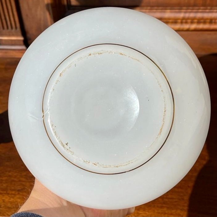 Vase en Opaline D'époque Napoléon III - XIXe-photo-2