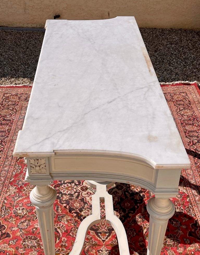 Console / Jardinière de Style Louis XVI -photo-2