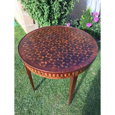 E. Gallet From Paris - Marquetry Hot Water Table