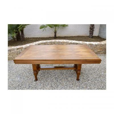 Dining Table In Walnut