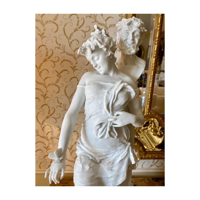 Gaudenzio Colombo - Biscuit, Satyr And Bacchante-photo-2