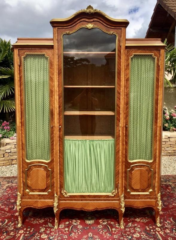 P. Sormani - Marquetry & Bronze Bookcase-photo-2