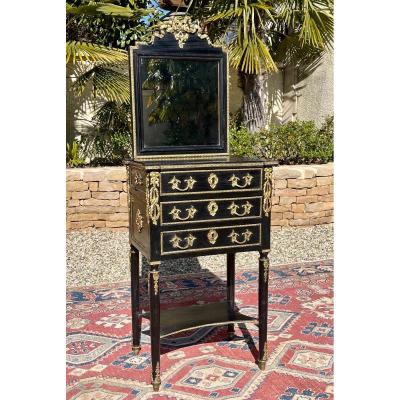 Bedside Table - Napoleon III Dressing Table In Louis XVI Style