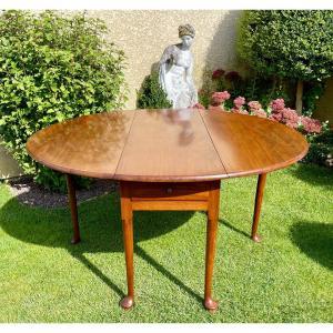 Table Gateleg  en Acajou XIXe