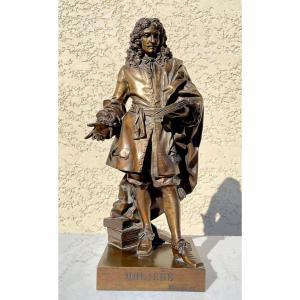 E.M. Melingue - Bronze de Molière, Susses Frères