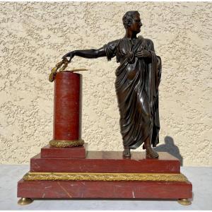 Bronze, Napoléon en Tenue d' Empereur