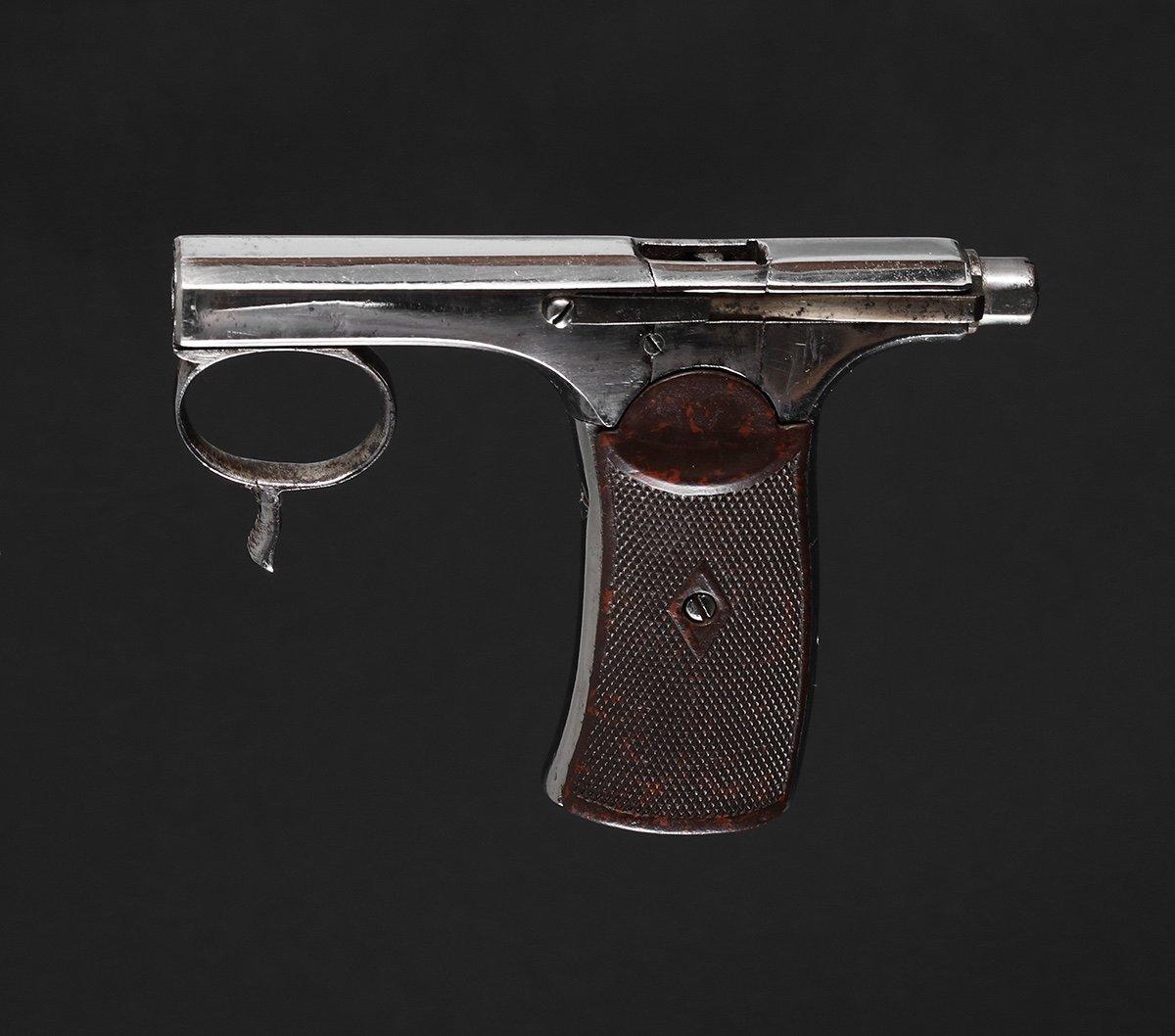 Pistolet Brun-latrige