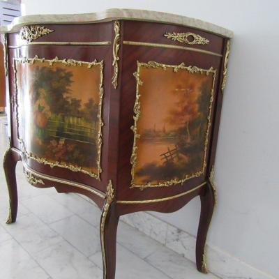 Christofle Dax 159 Pieces And Argentier Style Louis XV