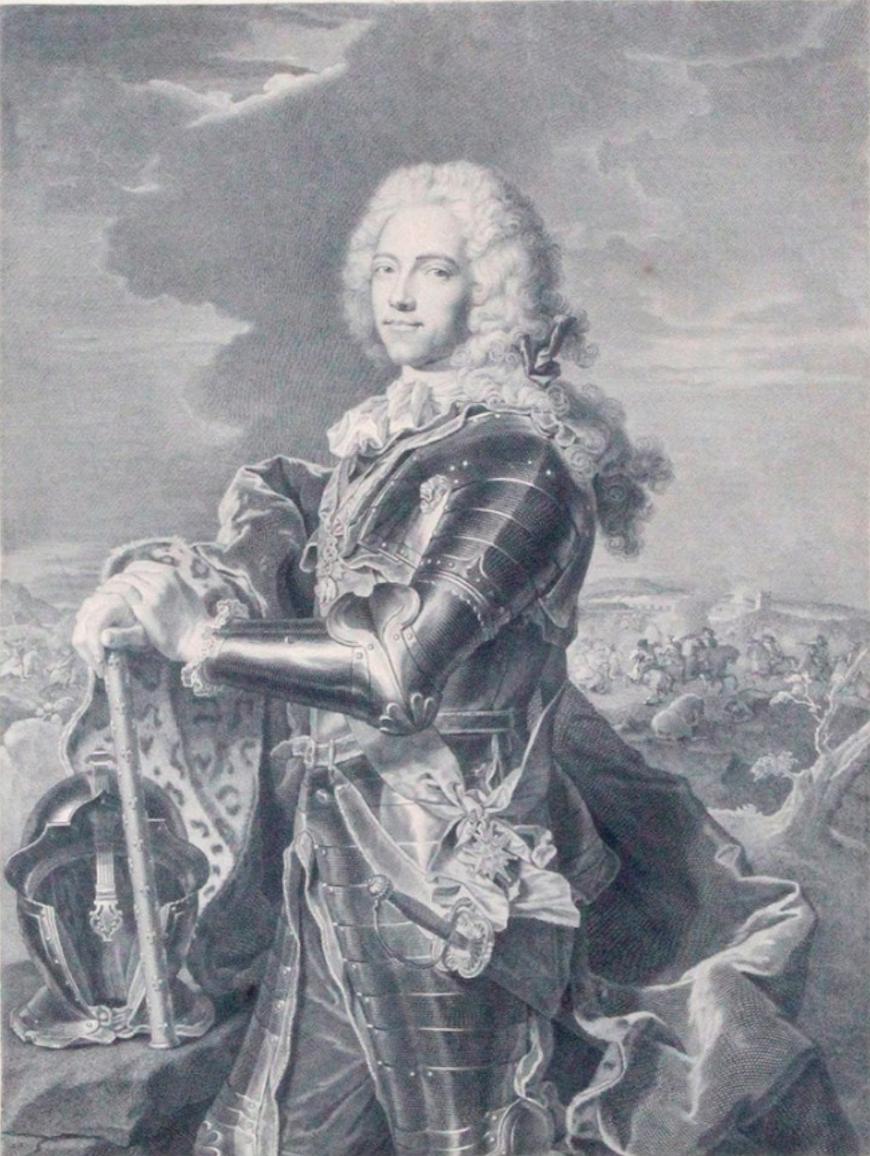 Gravure De Johann Georg Wille d'Après Hyacinthe Rigaud - Fouquet-photo-2