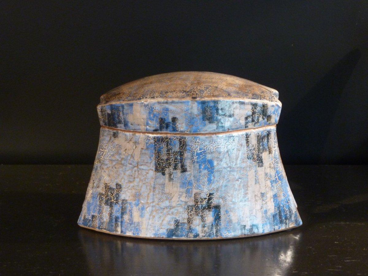 Enamelled Ceramic Box