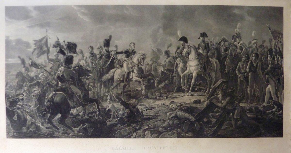 Engraving After François Gérard - Battle Of Austerlitz