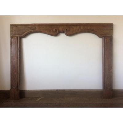 18th Century Fireplace In Elm