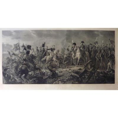 Engraving After François Gérard - Battle Of Austerlitz