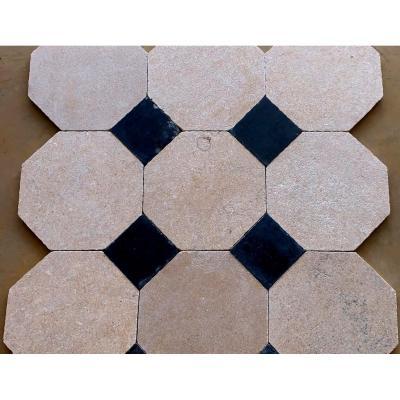 Stone Floor - 18th Century Cabochon Tiles