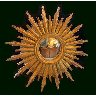 Golden Witch Mirror