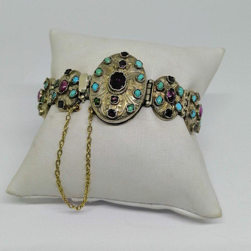 Austro-hungarian Silver / Vermeil Bracelet.