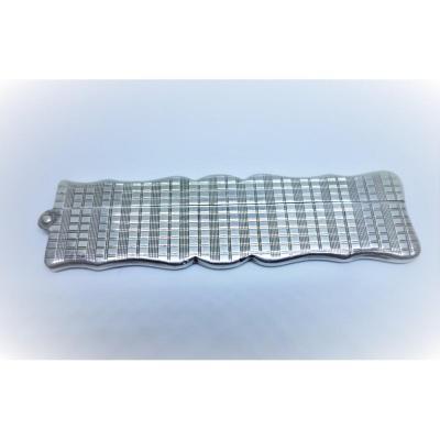 Handbag Comb In Sterling Silver.
