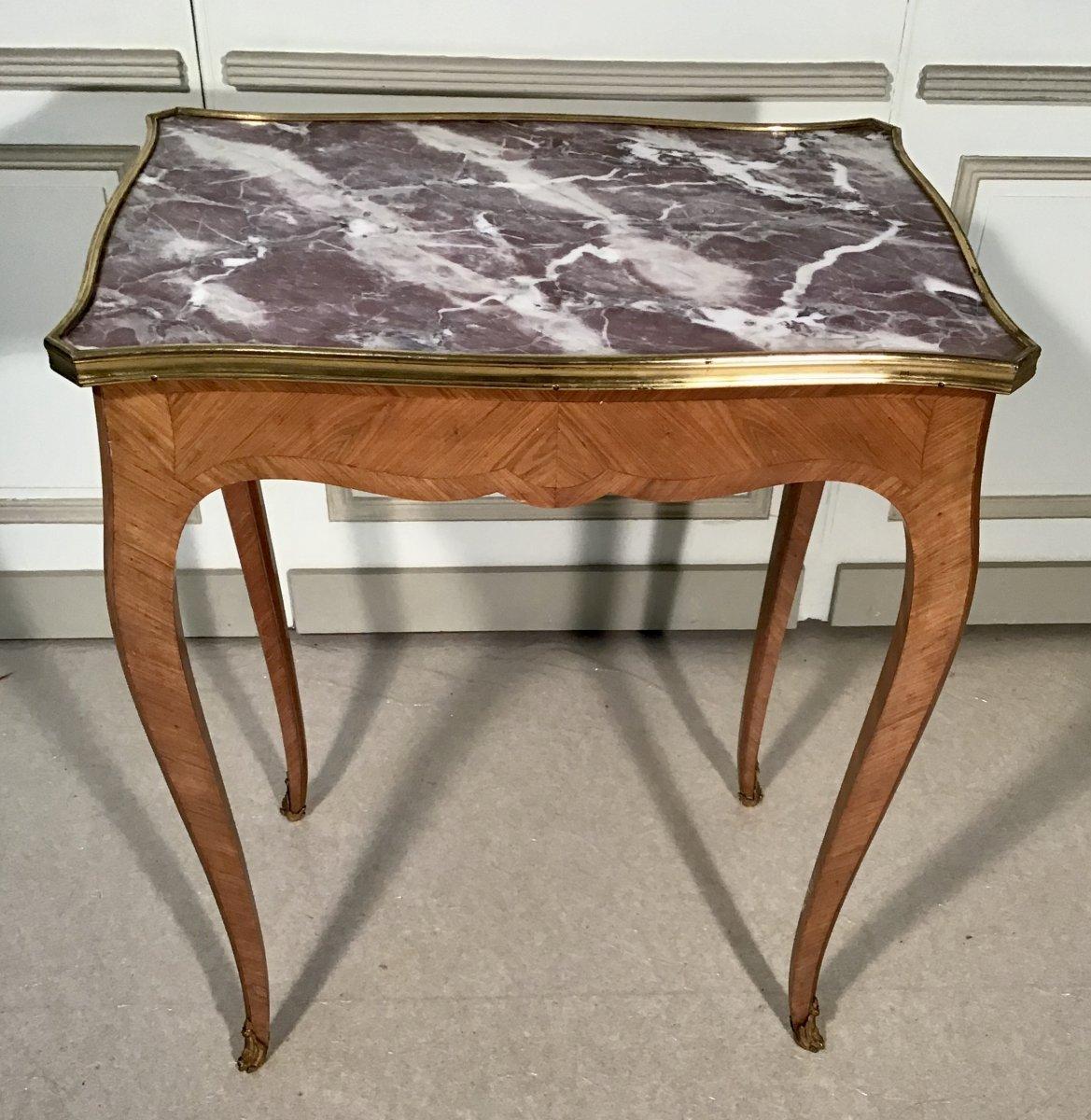 Table Volante Said De Salon Louis XV Style Epoque 19th