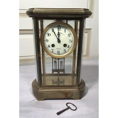 Japy Brothers Brass Cage Pendulum