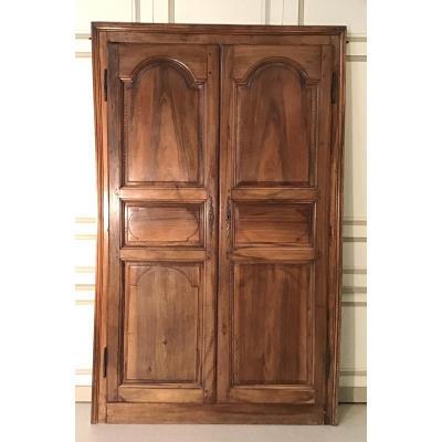 Walnut Doors Île De France Period Late 18th