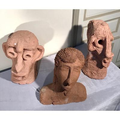 20th Terracotta Sculptures