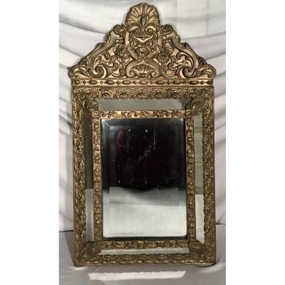 Miroir à Parecloses Napoléon III, 19ème