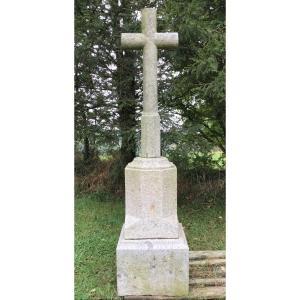 Calvary Or Cross Of The Way In Granite 19th