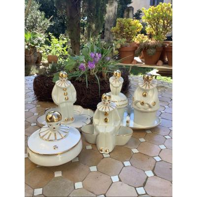 Art Deco Porcelain Table Service Set Dlg Robj 1930