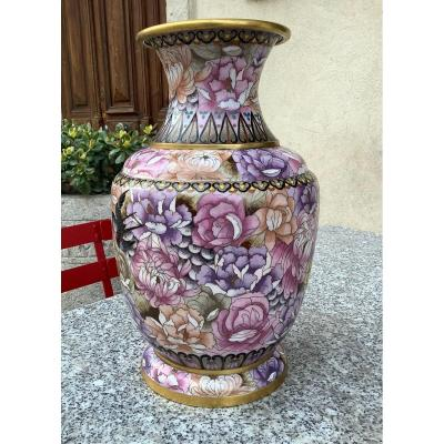 Large Cloisonne Potiche China Early Twentieth