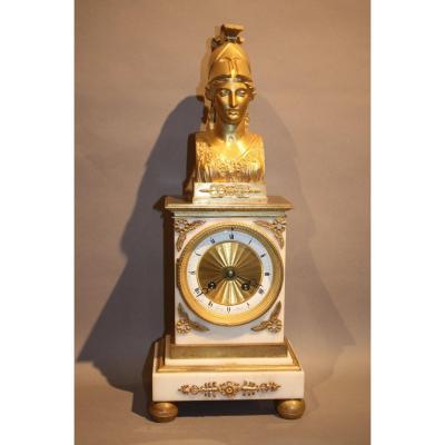 Borne Empire Clock At La Minerve.