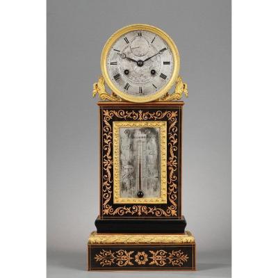 Pendule Restauration- Chronomètre-thermomètre.