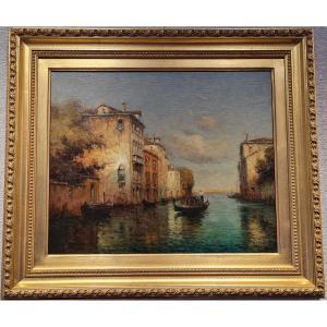 A. Bouvard, Grand Canal à Venise