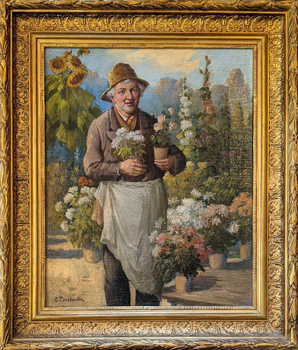 Le Jardinier signé Constantin