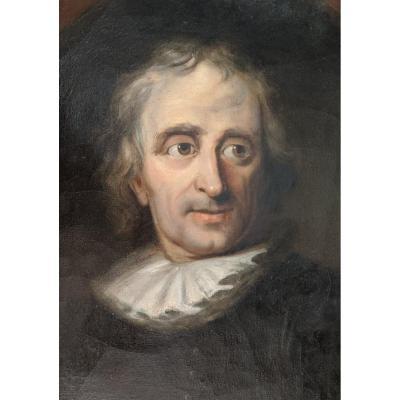 Portrait Signed Anatole Dauvergne