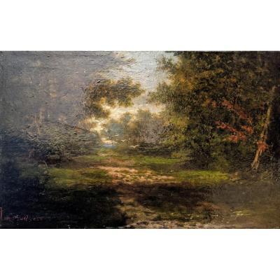 Landscape Signed Louis Guédy