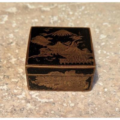 Japanese Stamp Box.