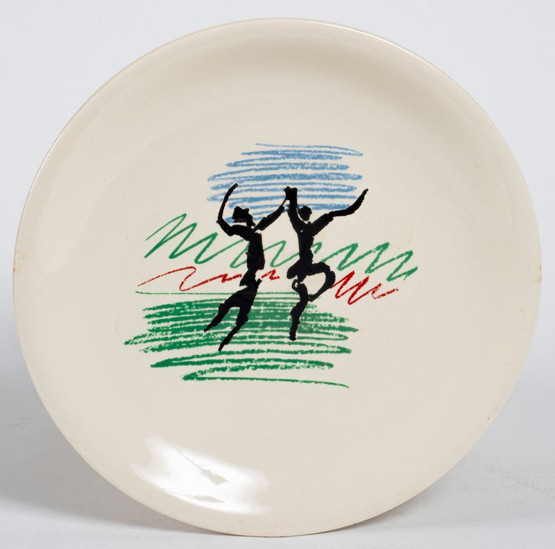 Picasso Plate Editions Salins -