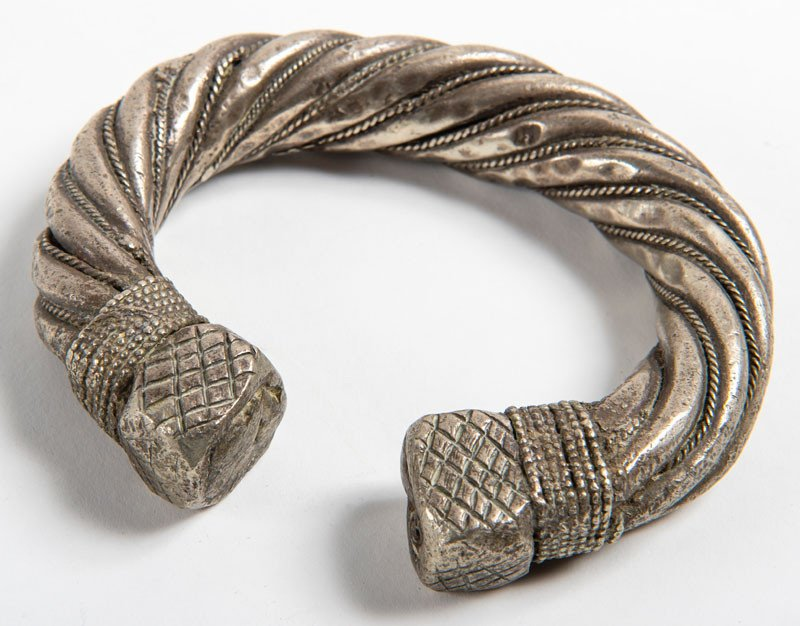Large Slave Bracelet – Africa / African Mixed Silver