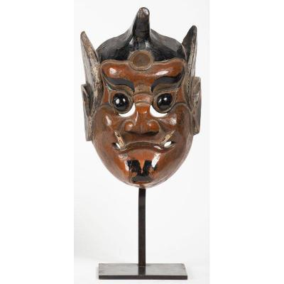 Chinese Mask - God Of The Mountain, 19th Century