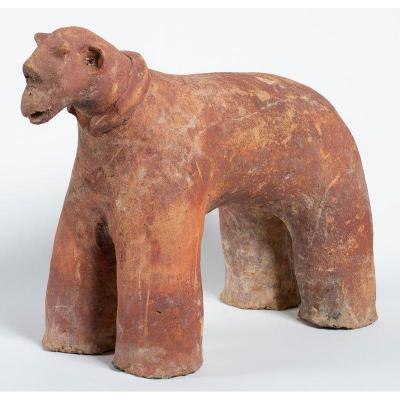 Culture Tenenkou Mali 12ème Au 16ème Siècle - Test De Thermo-luminescence : Sculpture Zoomorphe