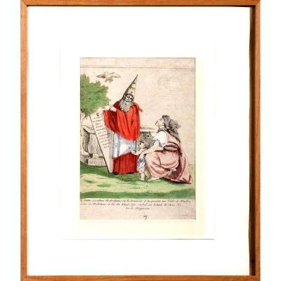 Nostradamus Prédisant Les évènements De 1789-1790 Et L'avènement De l'Empire Napoléonien