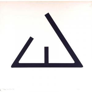 Jean Legros (1917-1981) - « Signe », 1973 - Pochoir Sur Papier