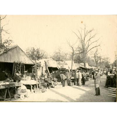 Un Coin De Foire à Bordeaux 1895 Photographie