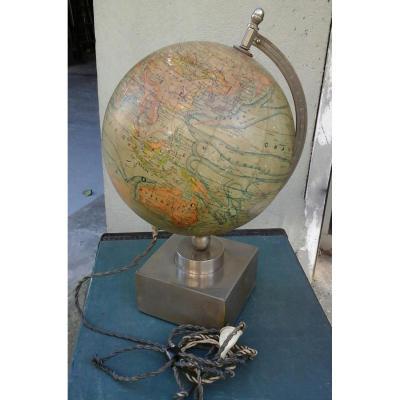 Globe Terrestre Eclairant Moderniste