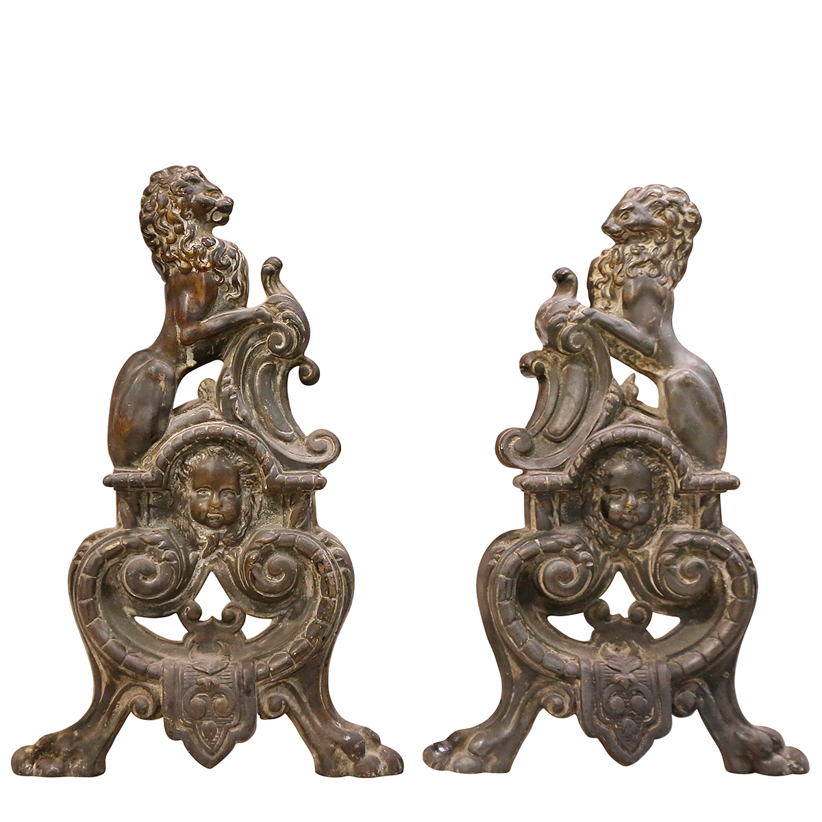 A Pair Of 18th Century Chenets