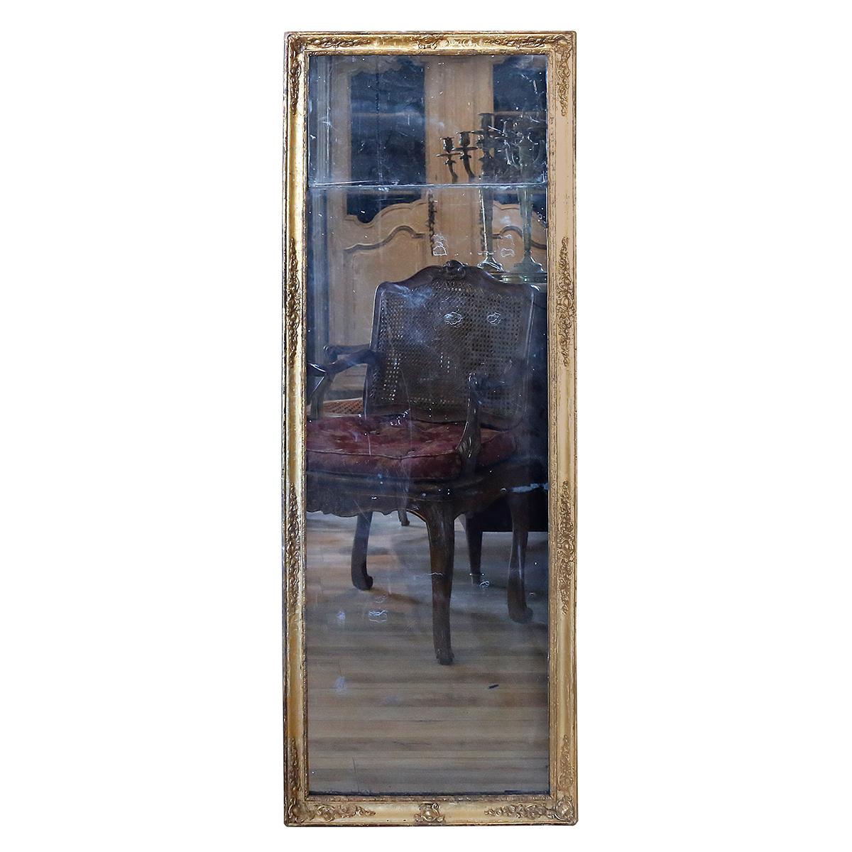 Miroir Au Mercure XVIIIème